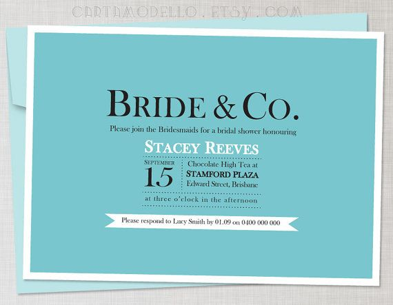 ... Bridal Shower Invitations Kits baby. One wedding invitations mean low