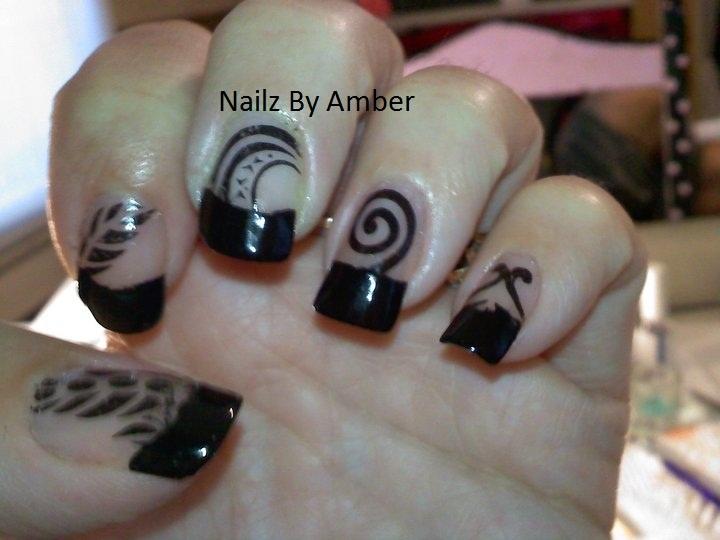 Tattooed Nails | FunKy Nail Art | Pinterest
