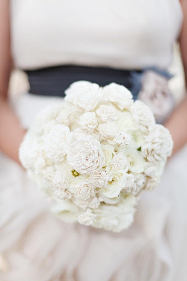bouquet. balsa wood.