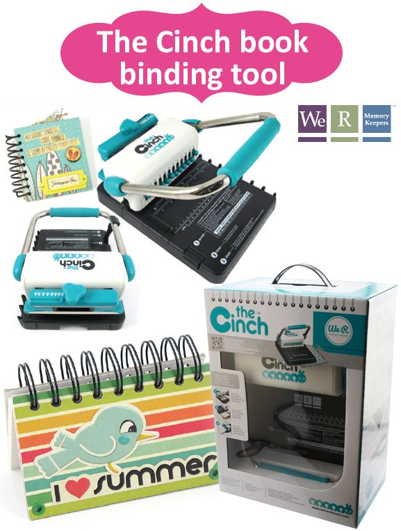 cinch book binding machine