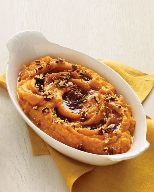 Sweet Potato Puree with Browned-Butter Maple Syrup | 4 pounds sweet ...