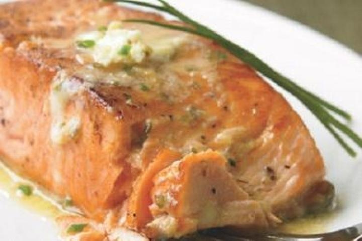 ... honey and lime grilled salmon with lime butter sauce recipes dishmaps