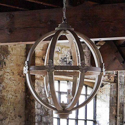 Large Round Wooden Chandelier Chandelier Pinterest