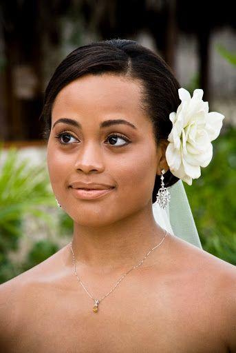 Maquillage mariée afro naturel.  Beauté/Maquillage de la mariée ...
