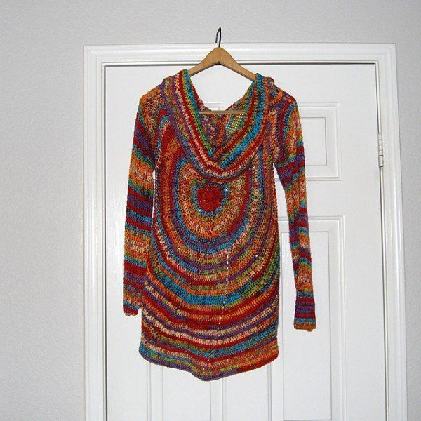 Free Crochet Sweater Patterns To Download : Pin by Hippies Crochet on Crochet annnd Knitting Pinterest
