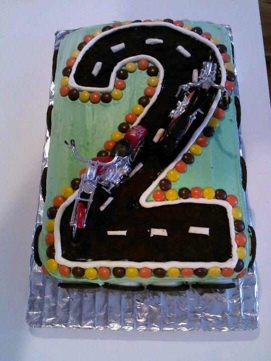 Birthday Cake Ideas Motorcycle : Motorcycle Birthday cake Birthdays/Parties Pinterest