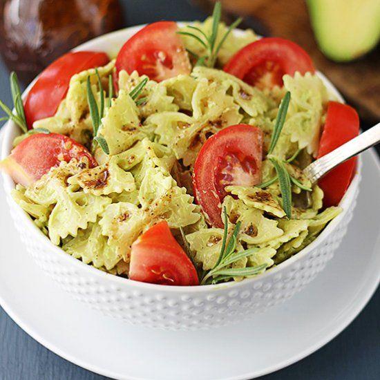 creamy 20 minute avocado pasta | Food | Pinterest
