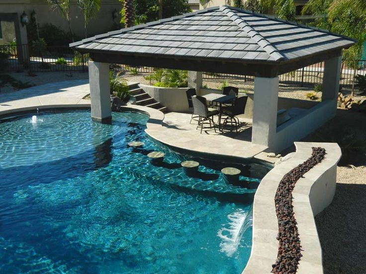 Great pool design unique pools pool fire pit and Great pool design ideas
