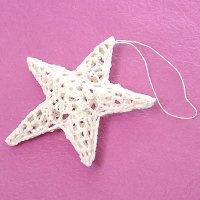 3d crochet star