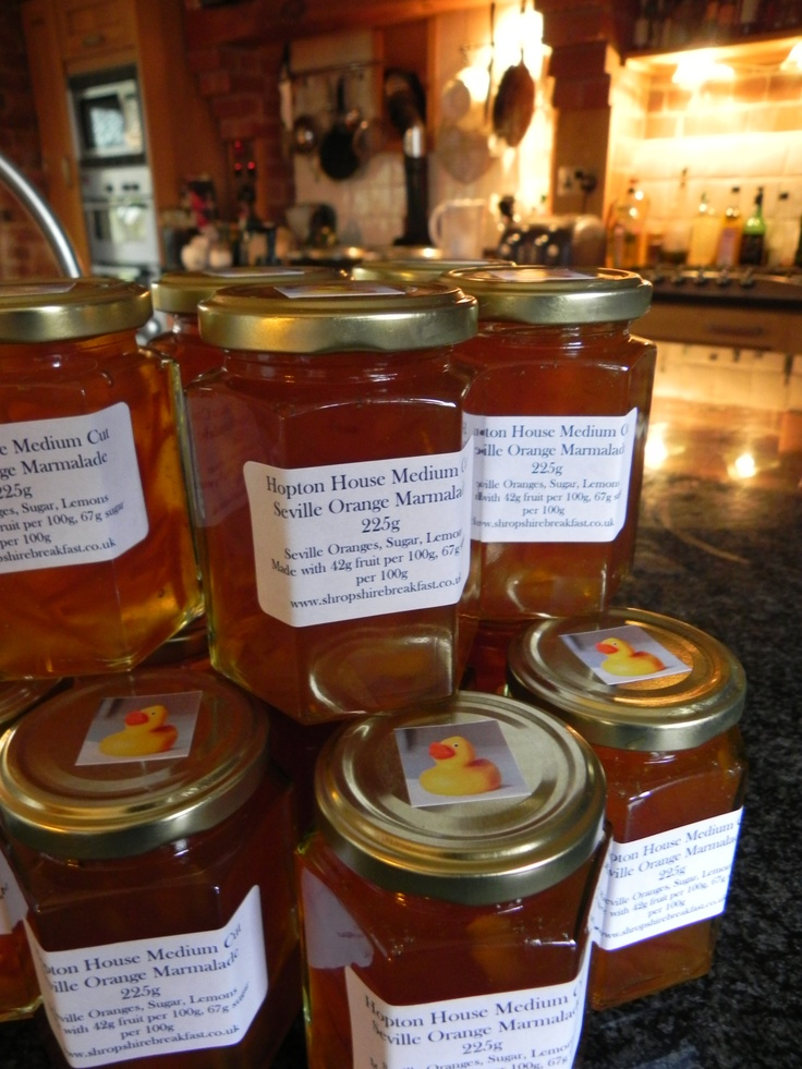 Seville Orange Marmalade | Hopton House Breakfasts | Pinterest
