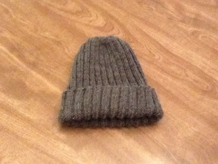 How To Knit A Mens Hat Free And Easy Pattern