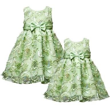 Honeydew Flower Girl Dresses 10