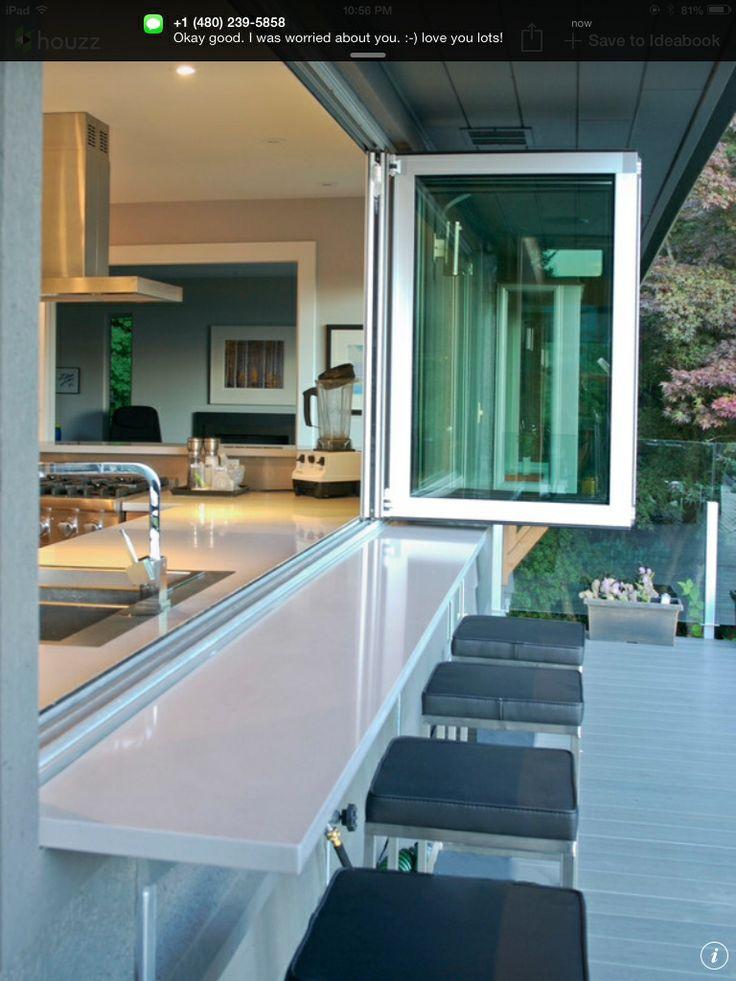 indoor outdoor kitchen garden