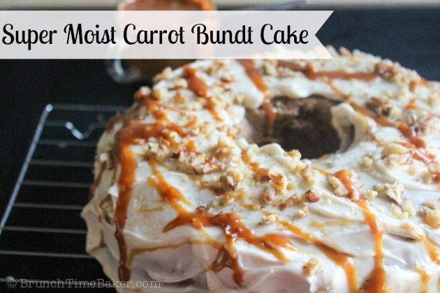 Moist Carrot Cake with Cream Cheese Frosting- BrunchtTimebaker ...
