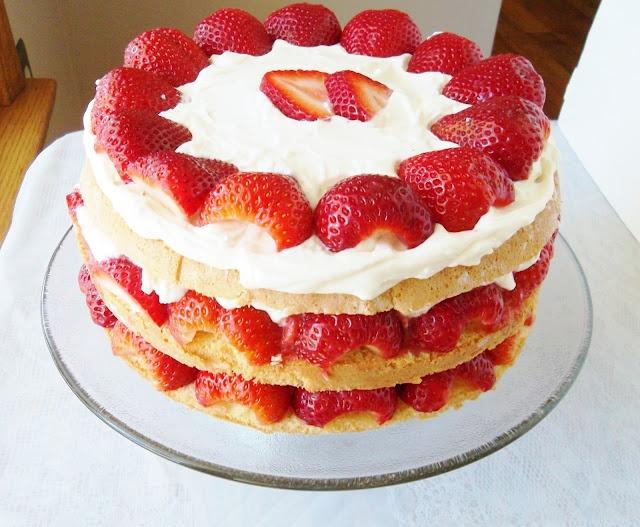 Cake Recipe: Genoise Cake Recipe Martha Stewart