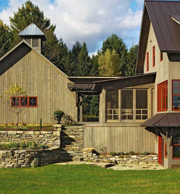 Goose Farm Traditional Exterior Home Pinterest