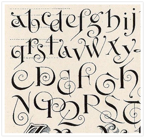 Letter love pinterest Cool caligraphy fonts