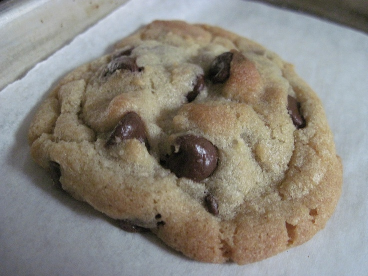 One Bowl Chocolate Chip Cookie | food I might try! | Pinterest