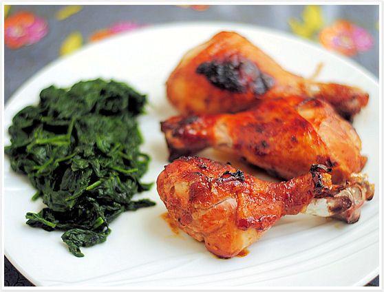 Apricot-Glazed Chicken Drumsticks 5 | Yummy Bites | Pinterest