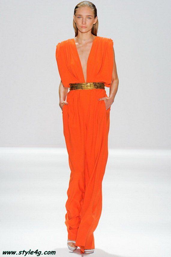 Lastest Orange Lace Front Jumpsuit Orange Burnt Orange Lace Front Jumpsuit