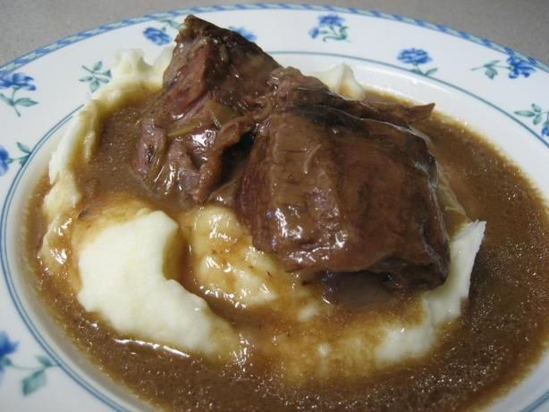 Super Simple Pot Roast from Food.com: This is a great way to cook on ...