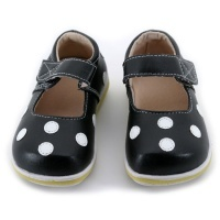 puddle jumper shoes, polka dots