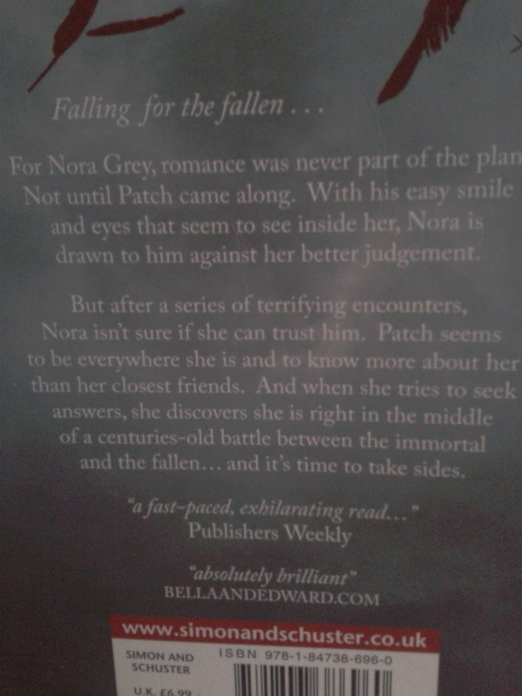 Nora and patch quotes about life