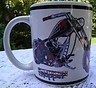 $19.99 AMERICAN CHOPPER BLACK WIDOW BIKE Motorcycle Coffee Tea Mug