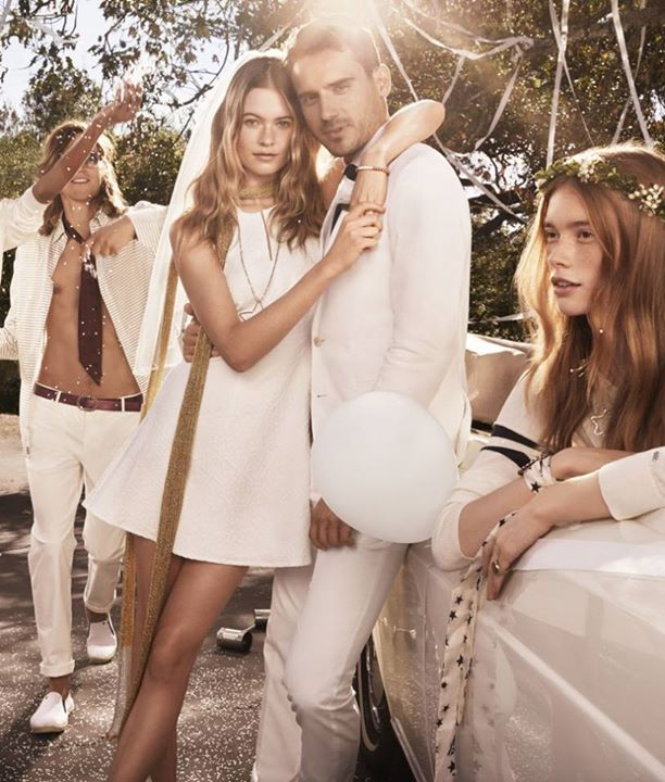 Behati Prinsloo Ties The Knot Again In Tommy Hilfiger's I Do Campaign