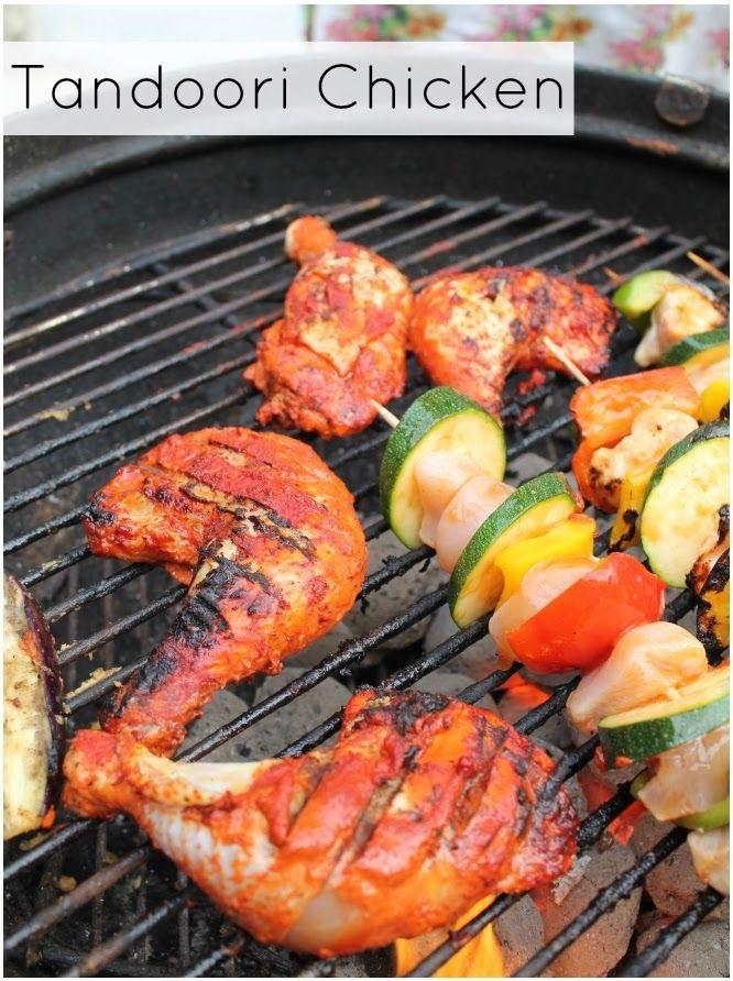 Super Easy BBQ Tandoori Chicken Legs | Yum Yum Yum | Pinterest