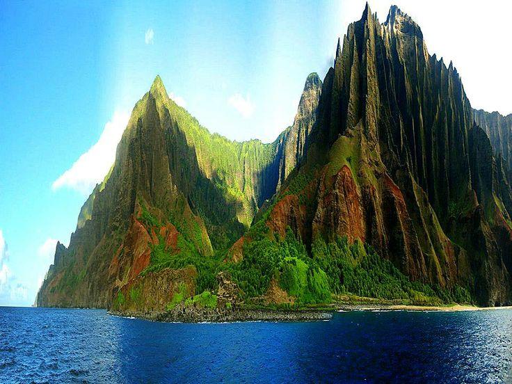 Kauai Hawaii United States  City pictures : Na Pali Coast, Kauai, Hawaii | The United States | Pinterest