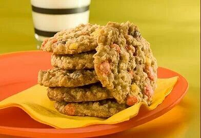 Oatmeal Reese cookies | yummy!! | Pinterest