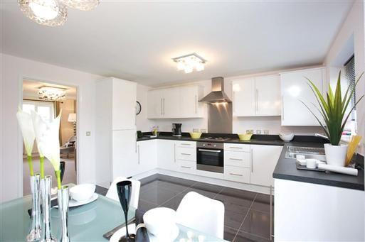 Bellway b w kitchen keuken pinterest - D co keuken ...