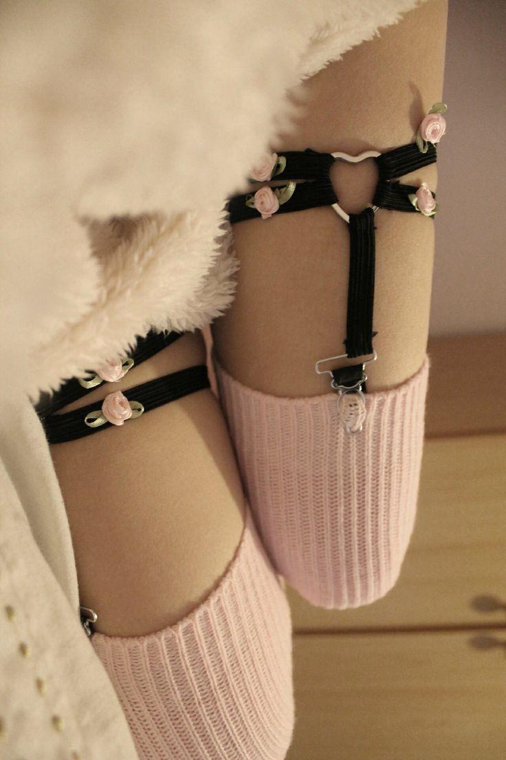 how to make sock garters