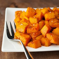 Roasted butternut squash with Moroccan spices - a vegetable that ...