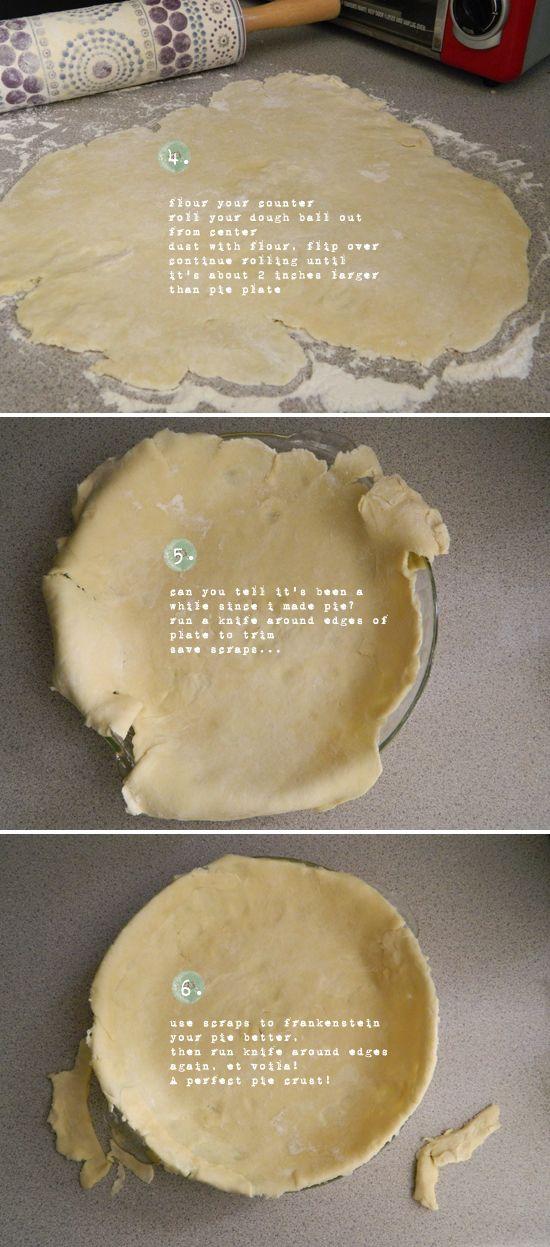 Pie There: Cream Cheese Pie Crust » glitter & ganache