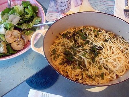 Baked Lemon Spaghetti | Meatless Monday Mania | Pinterest