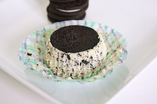 Cookies & Cream Cheesecakes | Food and Drink | Pinterest
