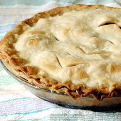 The Best Apple Pie! I make it with Pamela's Bread Mix Pie crust.