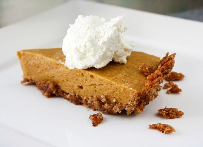 SCD Pumpkin Chiffon Pie (*Substitute coconut milk for heavy whipping ...