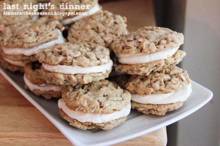oatmeal whoopie pies | I love WHOOPIE PIES | Pinterest