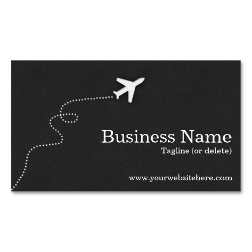 Modern And Simple Travel Business Cards Make Your Own Business Card With This Great Design All