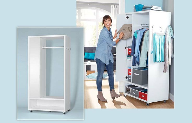 Tschibo - Mobile Schrank-Garderobe  Furniture  Pinterest