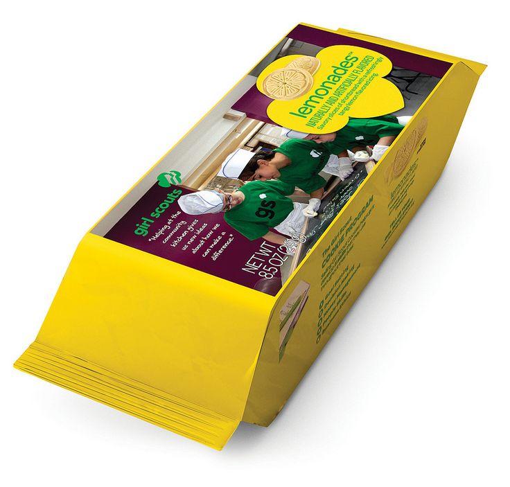 lemonades box girl scout cookies pinterest