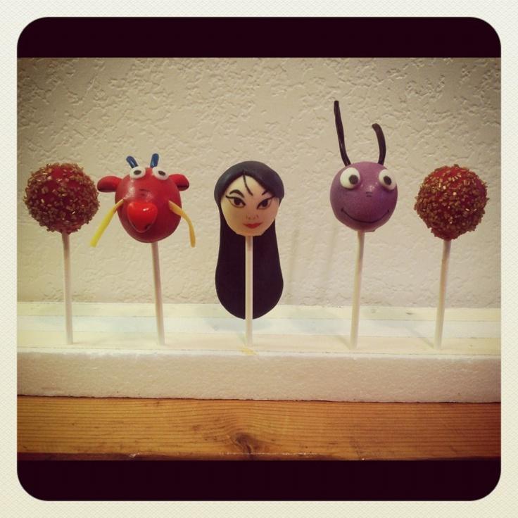 vypassetti cake pops: mulan and cri-kee