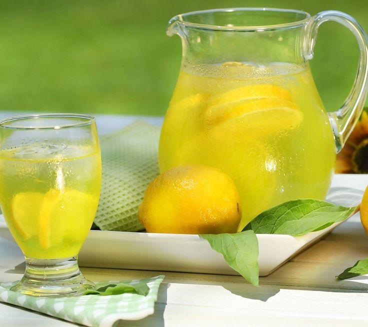 Лимонад в домашних условиях из лимона и