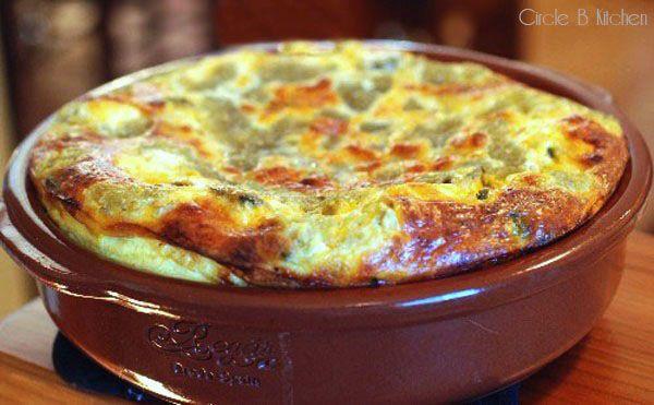 Meatless Monday Chile Relleno Bake - Circle B Kitchen - Circle B ...