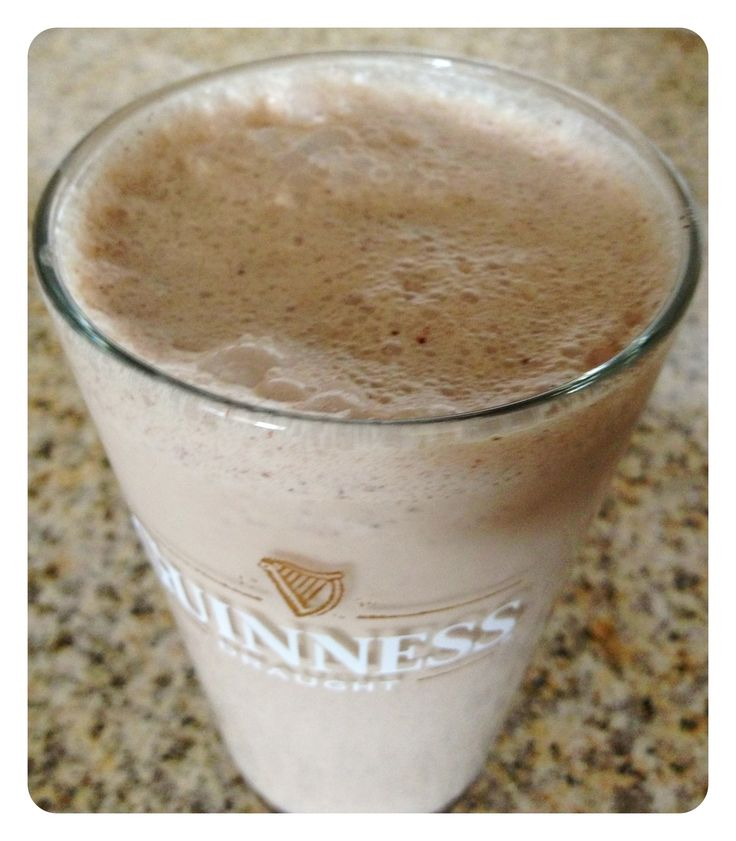 Guinness milkshake. Had this at Red Robin and fell in love!