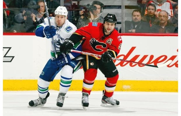 OCT. 11, 2012: That's the date the Vancouver Canucks are scheduled to open their 2012-13 NHL regular season schedule in Calgary against the Flames.