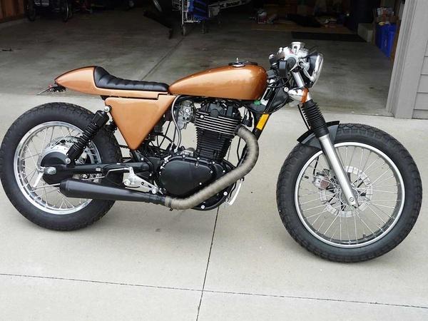 Suzuki S40 Savage Café Racer   Suzuki Custom Motorcycles ...